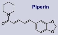 Piperin - Inhaltsstoff des Pfeffers